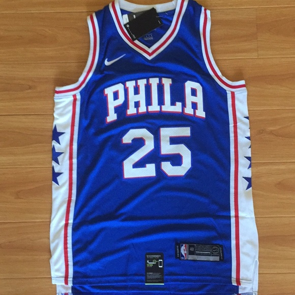 c2a9b560b Ben Simmons  25 Philadelphia 76ers jersey